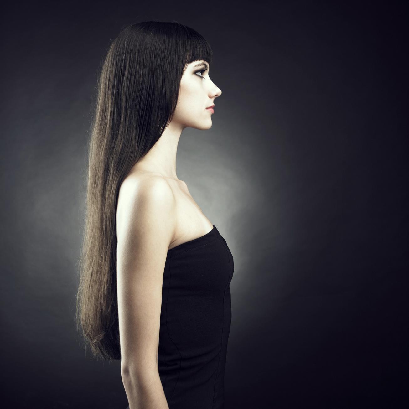 Фото красивые девушки с длинными черными волосами 5 фотография