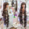 dalgalı saç çok uzun peruk